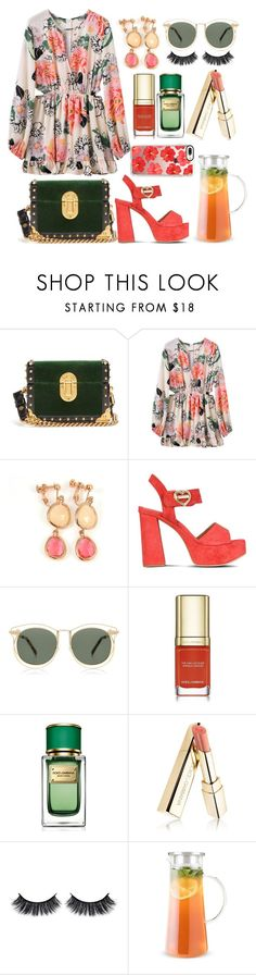 """Tang & Green"" by pulseofthematter ❤ liked on Polyvore featuring Prada, Love Moschino, Carven, Dolce&Gabbana, Battington and Casetify"