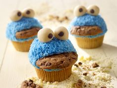 Lustige Monster Muffins - smarter - Zeit: 45 Min.   eatsmarter.de