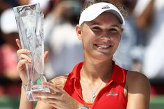 Caroline continued her strong play and netted another milestone as she advanced to the Miami Open fi