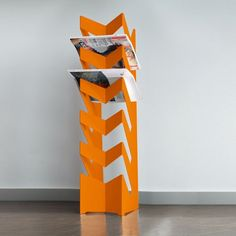 Radius Newspaper Rack