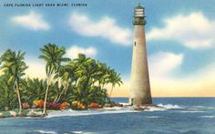 Cape Florida Lighthouse, Great American Road Trip, Places In Florida, Travel Information, Wonderful Places, Cn Tower, Explore, Building, Buildings