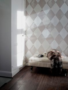 Harlequin Stone wallpaper By Helene Blanche Stone Wallpaper, Townhouse, Walls, Lounge, Couch, Wallpapers, Interior, Furniture, Design