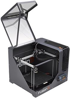 FUSION3 F400 HIGH-PERFORMANCE, ENCLOSED 3D PRINTER, SINGLE EXTRUDER (.4MM NOZZLE) WITH 2 YEAR WARRANTY.  The Fusion3 F400-S 3D Printer has been designed to provide customers with performance and durability rivaling industrial printers at a fraction of the cost. The F400-S provides: – High quality parts at blazingly fast speeds (up to 250MM/sec print speeds, . – All metal E3D print head with hardened steel nozzle – 1.4 cu ft enclosed print area with multi-zone heated bed.