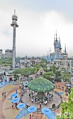 Lotte World - Magic Island