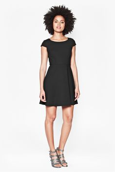 Whisper Ruth Cap Sleeved Dress - Dresses - French Connection Usa