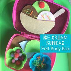 Fantastic Felt Busy Box Ideas