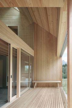 Innauer-Matt Architekten, Adolf Bereuter · House on Tschengla