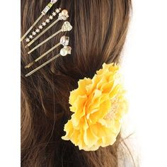 4.2$  Watch now - http://dia90.justgood.pw/go.php?t=202262601 - Rhinestone Artificial Pearl Flower Hairpin Set