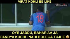 Virat Kohli calling Ravindra Jadeja out  #INDvWI #WIvIND For more cricket fun click: http://ift.tt/2gY9BIZ - http://ift.tt/1ZZ3e4d