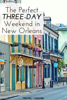 """If you're looking for a weekend getaway with plenty of affordable attractions and easy-going vibes, then consider a vacation in New Orleans. After all, the city's motto, """"Laissez les bon temps rouler,"""" translates to """"let the good times roll."""""""