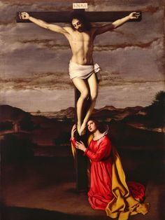 Giovanni Battista Salvi da Sassoferrato, The Crucifixion, 17th century