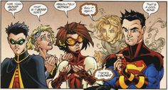 Young Justice #35    God, I miss the 90s.