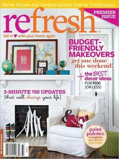 Better Homes And Gardens Magazine January 2014 | Great Magazines |  Pinterest | Magazines And January
