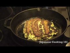 Okonomiyaki is a cabbage pancake covered with Okonomiyaki sauce.  Okonomiyaki sauce is a Worcester-based sauce with some sweetener