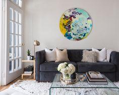 Modern Wall Art,Extra Large, Circular Wall Art, Abstract Wall Art,Oversized Wall…