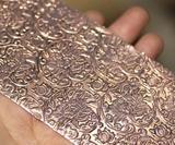 Lotus Textured Sheet Metal Sheet Metal Wall, Metal Walls, Riveting, How To Dry Basil, Lotus, Diva, Texture, Pattern, Surface Finish