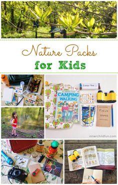 Nature Packs for Kids - #kids #sponsored
