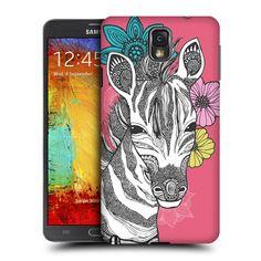 Head Case Designs Zebra Fanciful Intricacies Designs for Samsung Galaxy Note 3 N9000 N9002 N9005