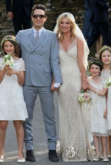 Kate Moss's wedding dress