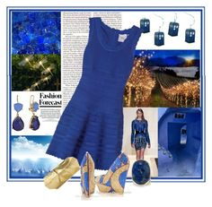 Light up the night by shape-shifter on Polyvore featuring polyvore, fashion, style, Hervé Léger, Isharya, Alexander McQueen, Rafe and clothing
