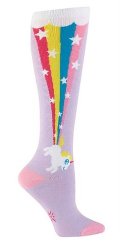Have a blast with these funny unicorn knee socks for women. Happiness is a rainbow shooting out of unicorn butt. You can't help but feel the magic with women's cute Unicorn Rainbow Blast Knee High Socks. Pink Knee High Socks, Knee Socks, Buy Socks, Women's Socks, Rainbow Socks, Rainbow Vomit, Unicorn Hoodie, Unicorn Gifts, Roller Derby