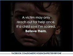 Listen to your Children!! Stop Child Abuse
