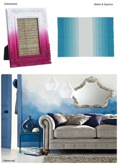 Ombre design | summer interior inspiration