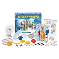 Renewable Energy Hydropower Science Lab Kit - Demco.com -