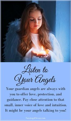 Your guardian angels are always with you