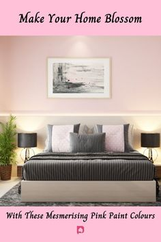 Pink paint colour walls and rooms: pink colour room ideas are ruling the roost. Pick them for your home right away! Read now. // wall color combinations // pink wall paint designs // pink color combination for wall // pink bedroom colour // light pink color combination for wall // pink colour combination for living room #pinkwallpaintdesigns #pinkbedroomcolours #pinkpaintcolourwalls Bedroom Wall Paint Colors, Pink Paint Colors, Room Wall Painting, Wall Colors, Pink Color, Wall Paint Colour Combination, Small House Interior Design, Pink Walls, Colour Light