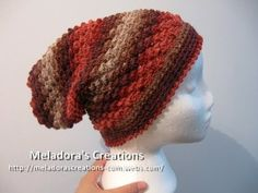 ▶ Raspberry Stitch Slouch Hat - Crochet Tutorial - YouTube
