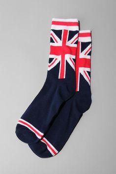 Union Jack ♔ Socks