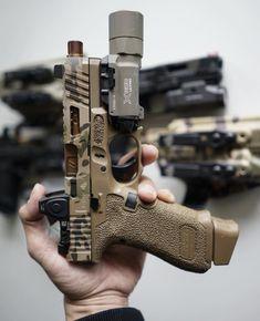 USA Gun Shop - The Best Handguns, Rifles, Shotguns and Ammo online Weapons Guns, Airsoft Guns, Guns And Ammo, Custom Glock 19, Custom Guns, Army Wife, Glock Stippling, Glock Mods, Tactical Pistol