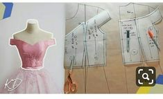 Hey DIY Fam, this video is a pattern tutorial in which I make an off-shoulder bodice pattern. I develop this design from my basic bodice patterns here https:. Super dress pattern sewing off the shoulder 23 Ideas Dress Sewing Patterns, Sewing Patterns Free, Clothing Patterns, Pattern Sewing, Free Pattern, Dress Tutorials, Sewing Tutorials, Off Shoulder Diy, Shoulder Sleeve