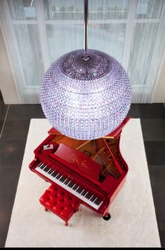 The Elton John Limited Edition Signature Series Red Piano.