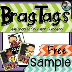 Brag Tag sample - I love brag tags as all students love being able to brag about their performance in the class and brag tags are away of acknowledging just how well they have done. Brag tags provide a fabulous classroom management system that allows you to celebrate your students achievements while motivating them to do and be their best.I used brag tags for the first time while subbing, I took them into the class with me, as it allowed me to reward standout behavior and work effort…