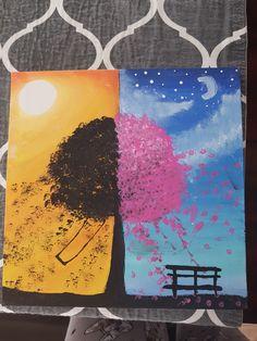 Boards, Sunset, Night, Painting, Art, Planks, Sunsets, Art Background, Painting Art