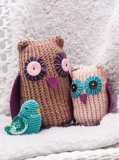 Eulen basteln! Throw Pillows, Owl Crafts, Random Stuff, Ideas, Cushions, Decorative Pillows, Decor Pillows, Scatter Cushions