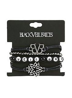 Get armed with BVB // Black Veil Brides Bracelet Set