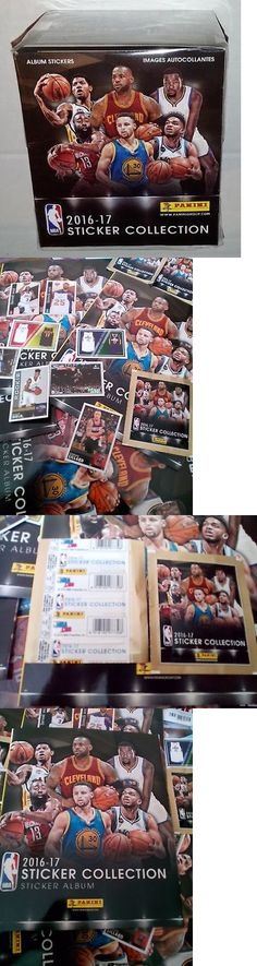 Other Sports Trading Cards 217: Nba 2016 2017 Panini Stickers Sealed 1 Box 50 Pack 250 Stickers -> BUY IT NOW ONLY: $41 on eBay!