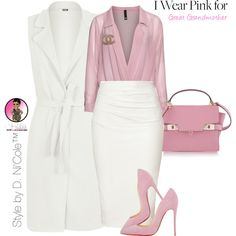 Untitled #2783 by stylebydnicole on Polyvore featuring Manon Baptiste, WearAll, Donna Karan, Christian Louboutin, Henri Bendel and Chanel
