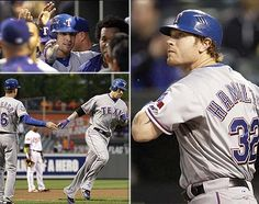 Josh Hamilton - record breaker with 4 homers, 18 bases in one game.