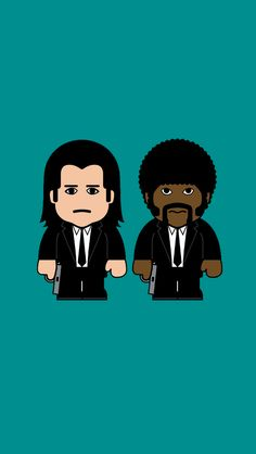 Describe what Marsellus Wallace looks like! #PulpFiction