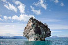 Marmurowe Jaskinie (Cuevas de Mármol) w Chile - jedne z najpiękniejszych jaskiń świata