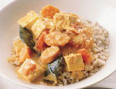 Panang Tofu Curry  Recipe