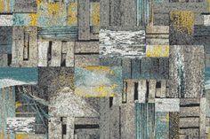 Glass Tiles - ReSalvage Collection Weathered Tile Pattern from Artaic LLC
