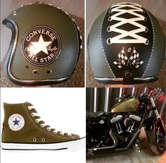 Converse All star helmets by Delamar Manetti