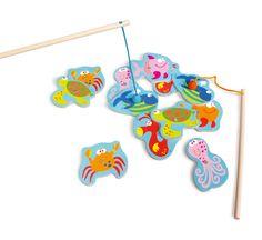Juego de pesca para niños Scratch. Disponible: http://www.juguetea.es/es/juguetes-de-madera-reciclada/599-juego-de-pesca-para-ninos-scratch-5414561820062.html