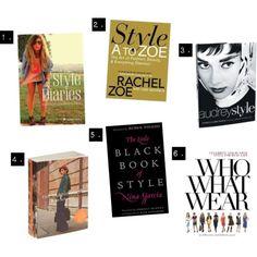 Top five fashion books  sophiemaestyle.com