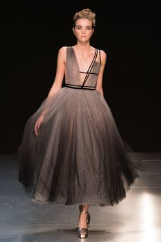 Georges Chakra Fall 2017 Couture Fashion Show - The Impression